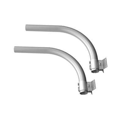 24 in. Outdoor Security Lighting Area Light and Flood Light Mount Arm (2-Pack)