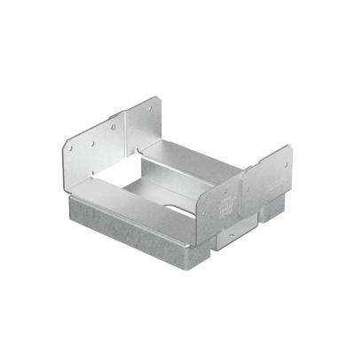 ABA ZMAX Galvanized Adjustable Standoff Post Base for 6x6 Rough Lumber