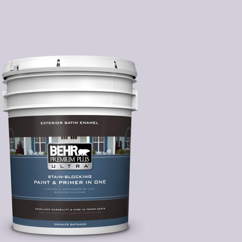 BEHR Premium Plus Ultra 5-gal. #660E-2 Purple Essence Satin Enamel Exterior Paint