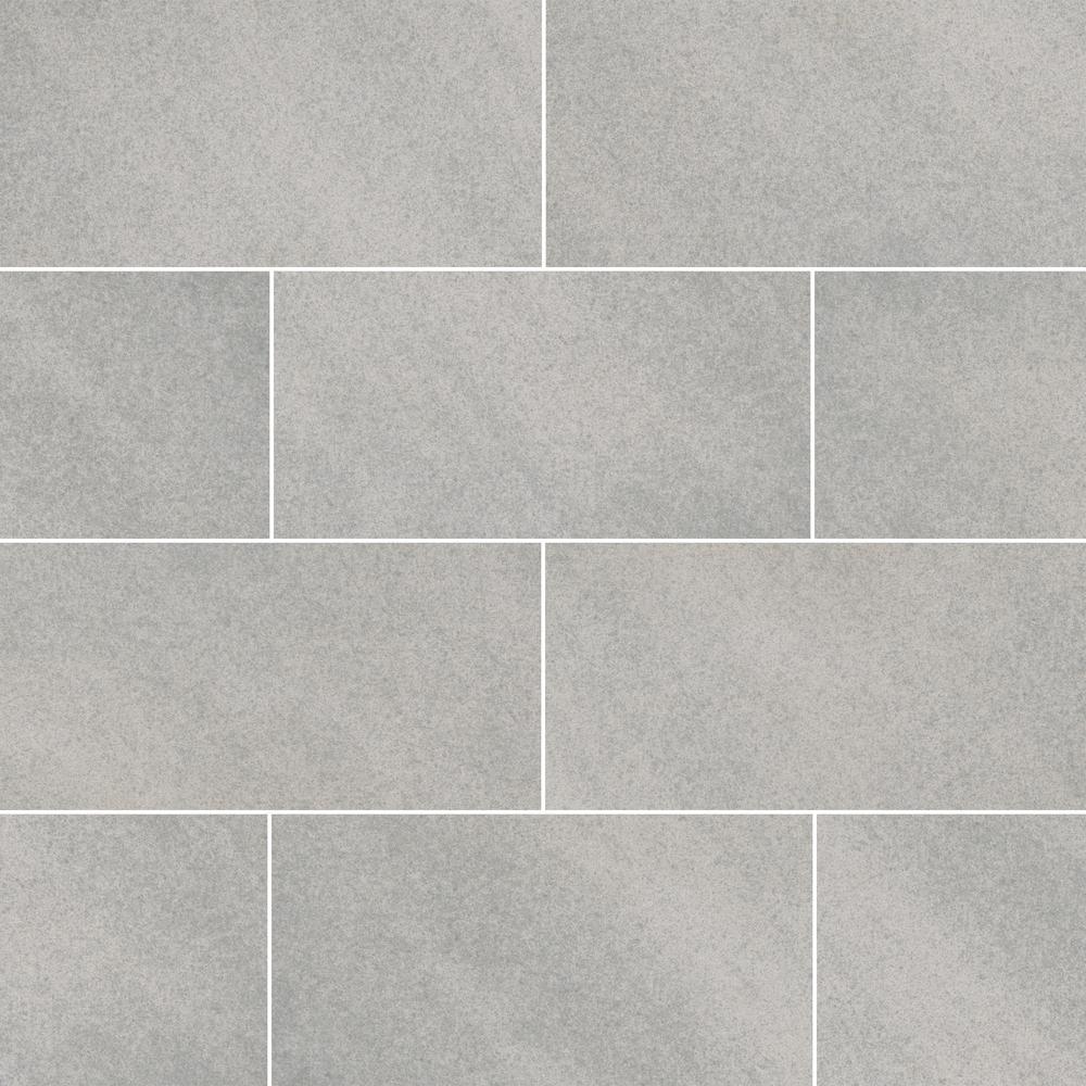 Quartcity Gris 12 in. x 6 in. x 0.25 in. Matte Porcelain Paver Tile (300 sq. ft./pallet)