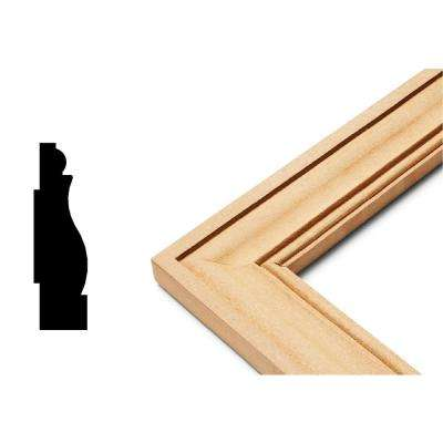 Edge Collection 3/4 in. x 5 in. x 23 in. MDF Self Adhesive Chair Rail Panel Moulding (3-Piece)