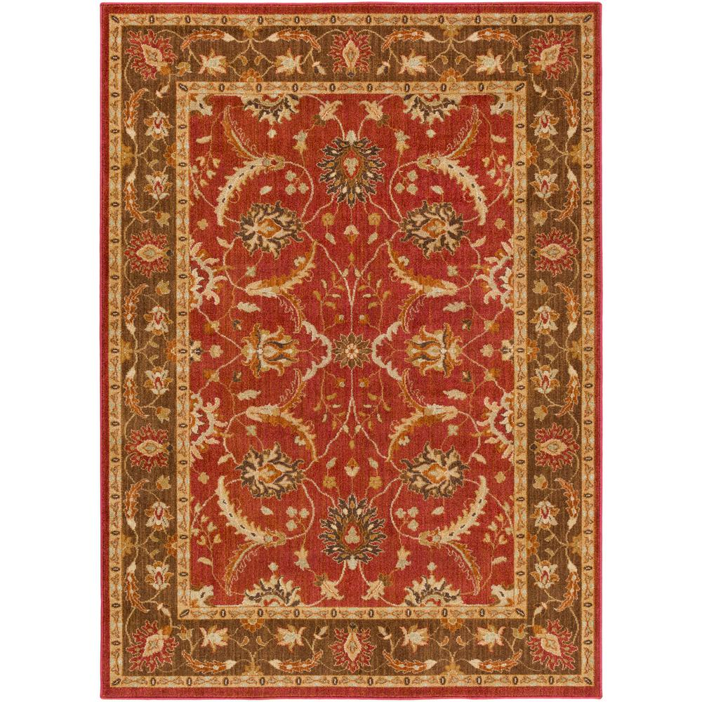 S Surya Willow Lodge Bright Red 8 Ft X 10 Indoor Area Rug