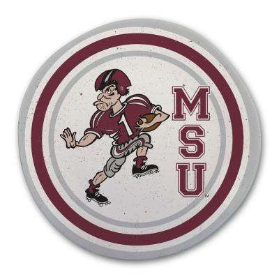 Mississippi State Multicolor Melamine Dinner Plate (Set of 6)