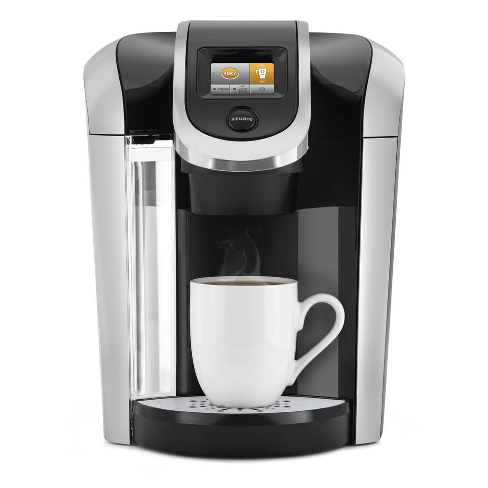 Single Serve Coffee Maker With Large Reservoir : Keurig K425 Plus Single Serve Coffee Maker-119283 - The Home Depot