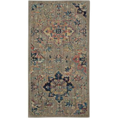 Isabella Grey 2 ft. x 4 ft. Area Rug