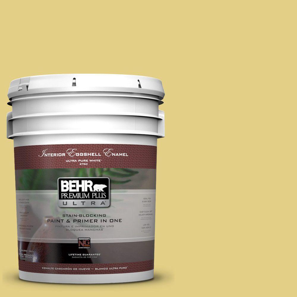 BEHR Premium Plus Ultra 5-gal. #P330-4 Starfruit Eggshell Enamel Interior Paint
