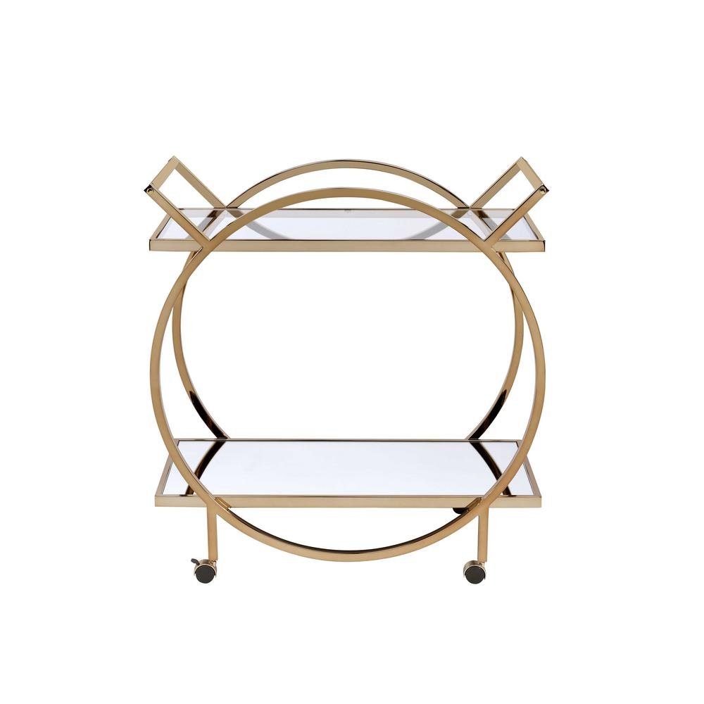 Traverse Champagne Serving cart