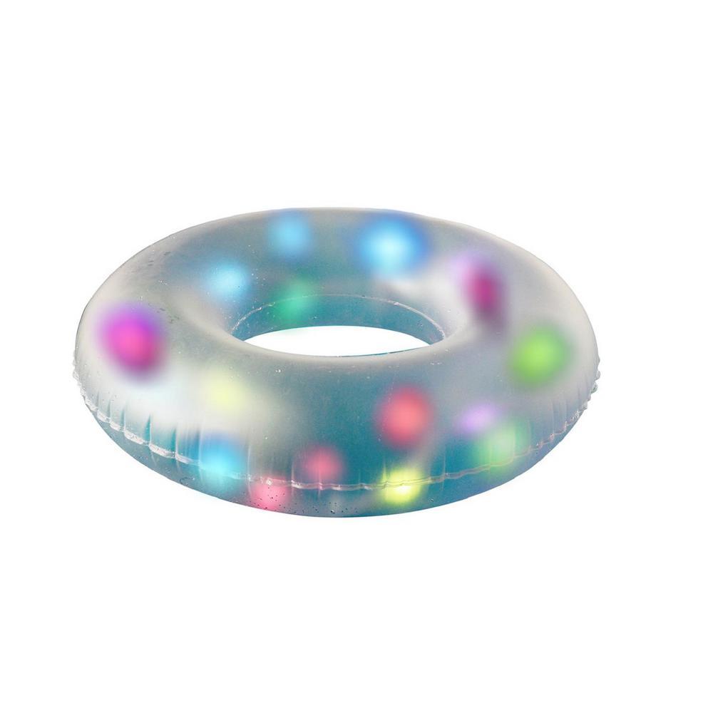 32 in. LED Lighted Inflatable Inner Tube