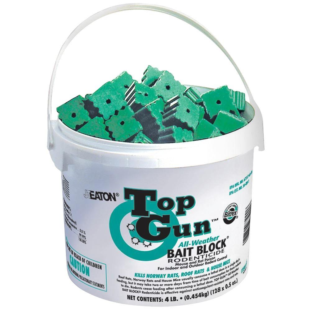jt eaton 750 top gun bait block rodenticide with stop feed action rh homedepot com
