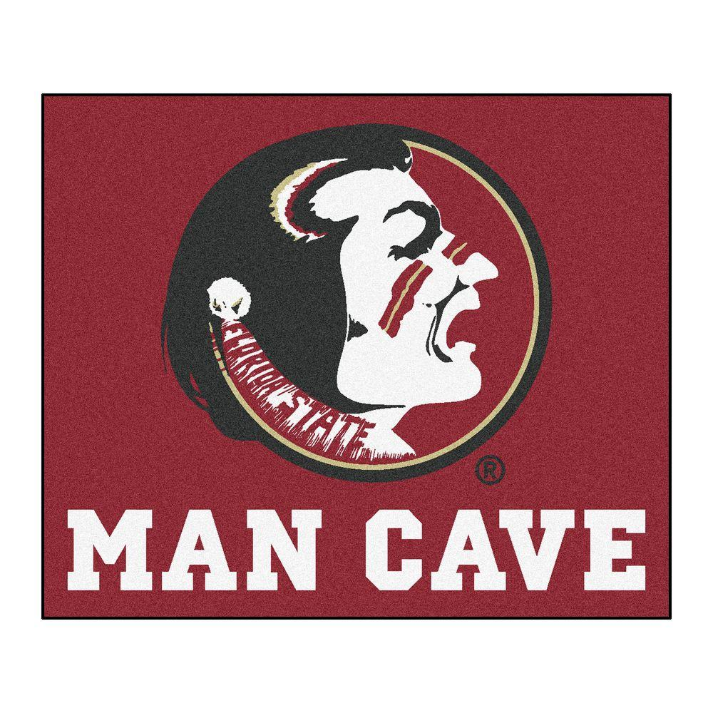 Florida State University Red Man Cave 5 ft. x 6 ft.