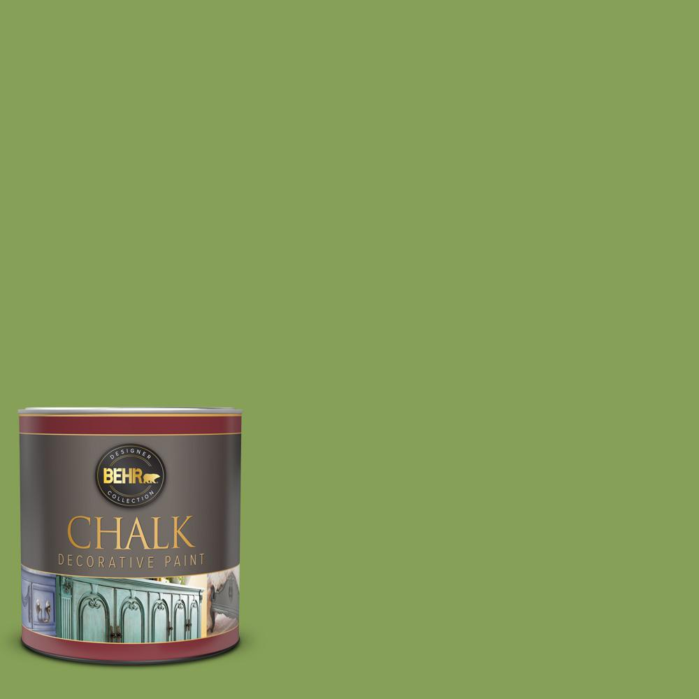 BEHR 1 qt. #BCP19 Electric Lime Interior Chalk Decorative Paint