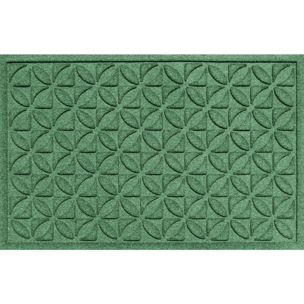Heritage Light Green 24x36 Polypropylene Door Mat