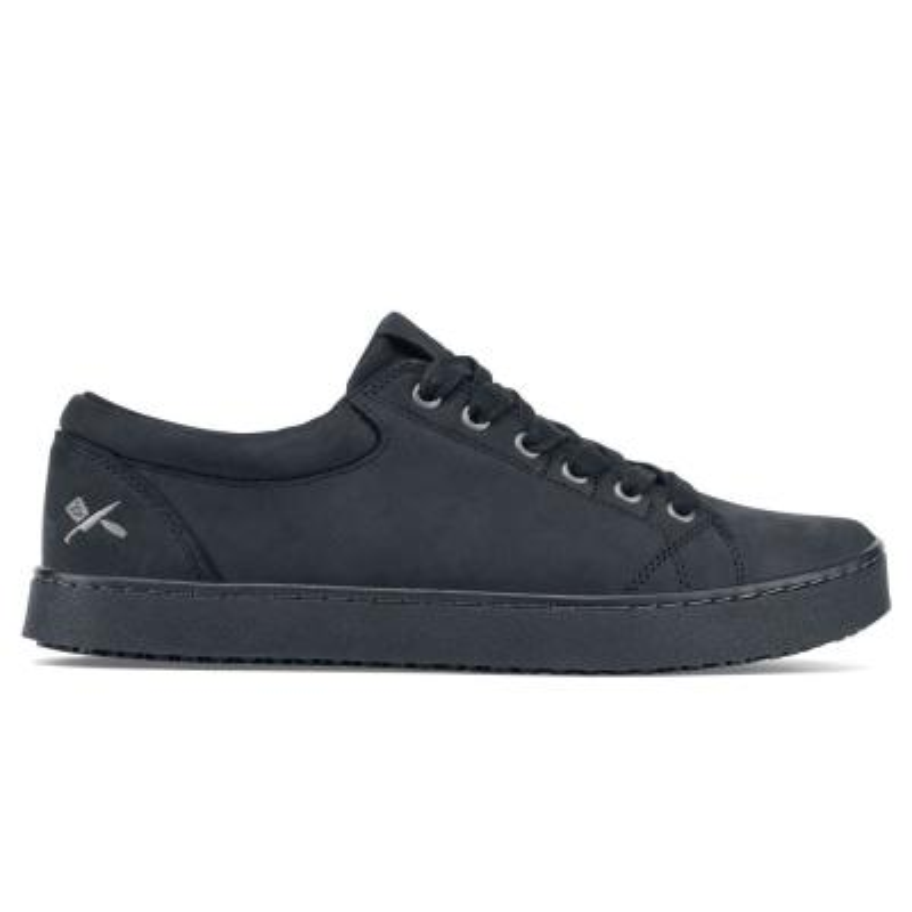 0e184fc974a Skechers Crankton ST Men Size 13 Black Leather Work Shoe-77055-13 ...