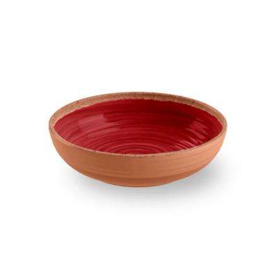 Red Melamine Bowl (Set of 12)