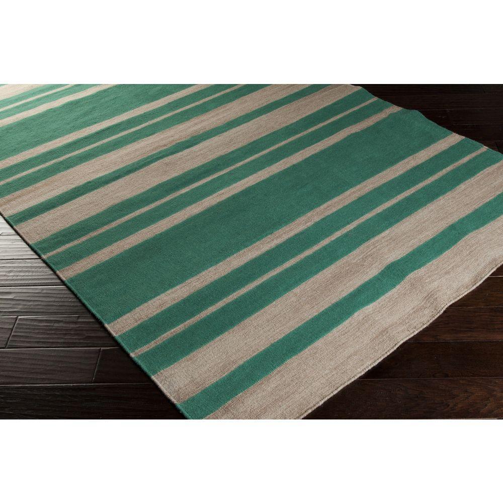 Frontier Emerald 5 ft. x 8 ft. Indoor Area Rug