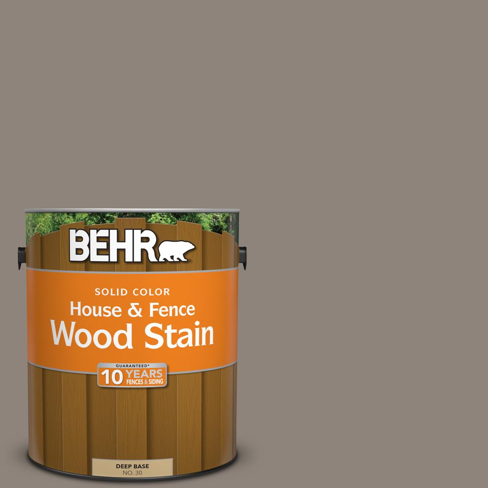 1 gal. #N200-5 Woodcraft Solid Color House and Fence Exterior Wood