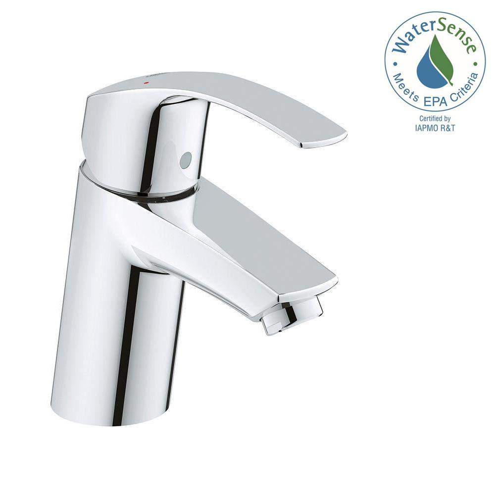 GROHE Eurosmart New Single Hole Single Handle Bathroom Faucet in ...