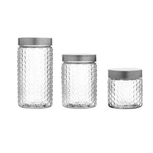 Weave Round Canisters (Set of 3)