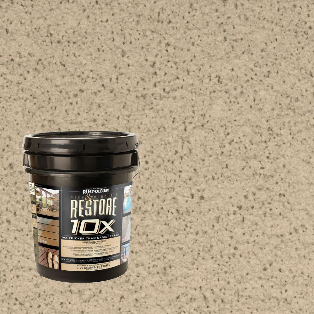 Rust-Oleum Restore 4-gal. Rattan Deck and Concrete 10X Resurfacer