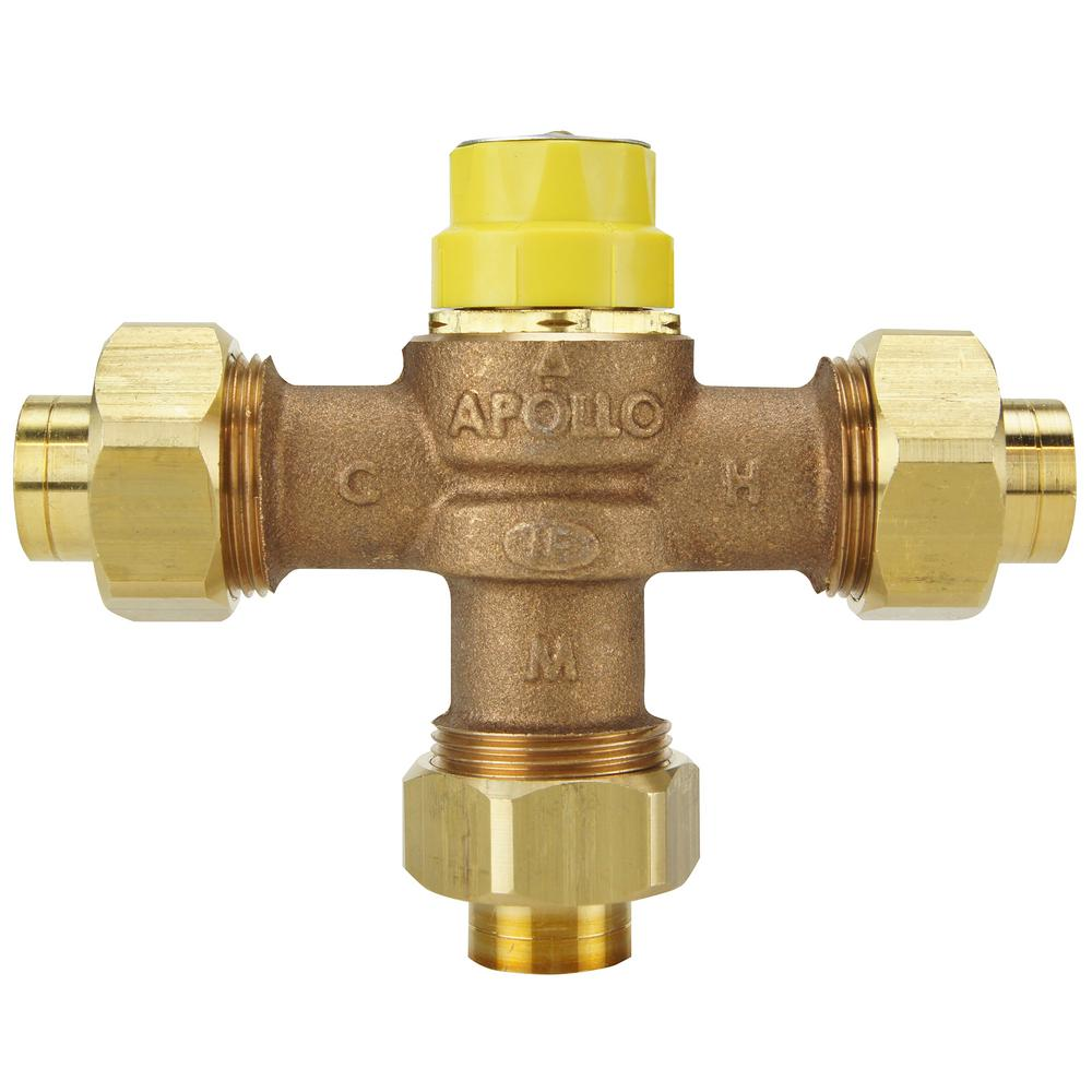 Thermostatic Mixing Valve: KOHLER MasterShower 1/2 In. Volume Control Valve-K-2974-K
