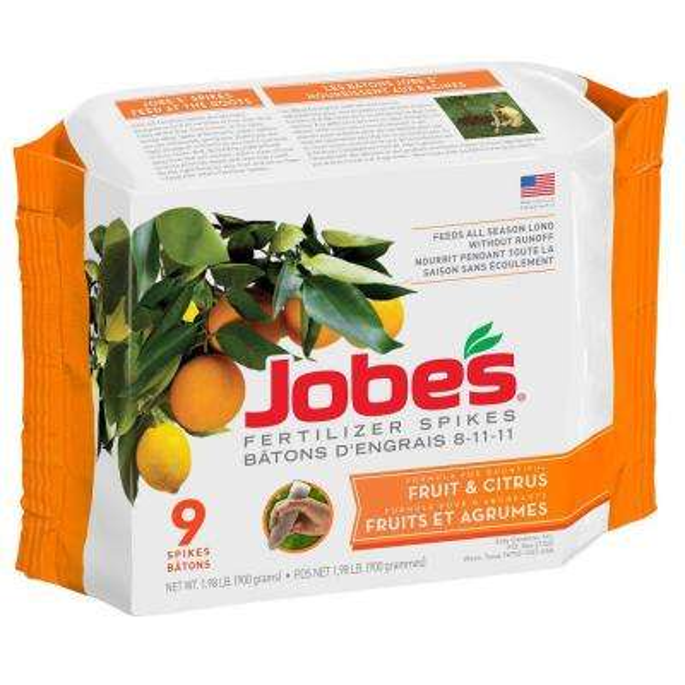 2.2 lb. Fruit and Citrus Tree Fertilizer Spikes (9-Count)