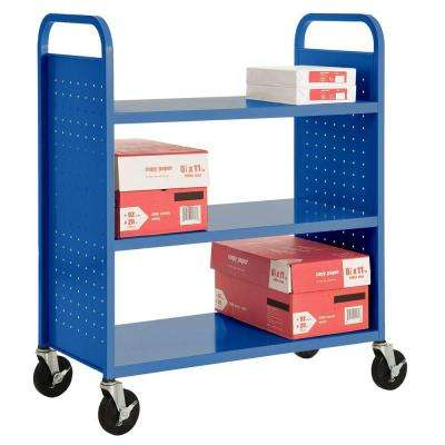 Ocean Mobile Steel Bookcase