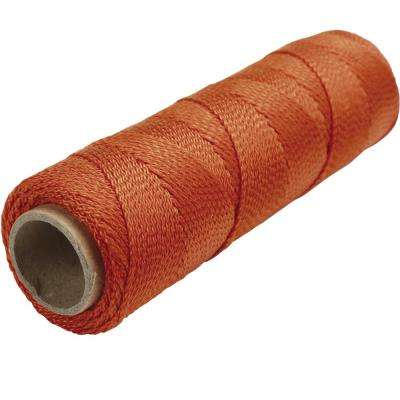 250 ft. Fluorescent Orange Braided Nylon Mason's Line