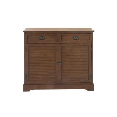 New Traditional Cherry-Wood Finish Wooden Cabinet