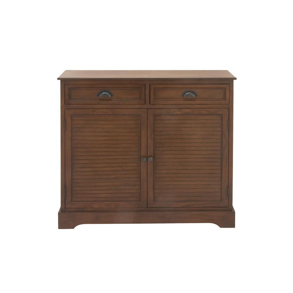 Sauder Woodworking Cinnamon Cherry Cabinet 419496 The Home Depot