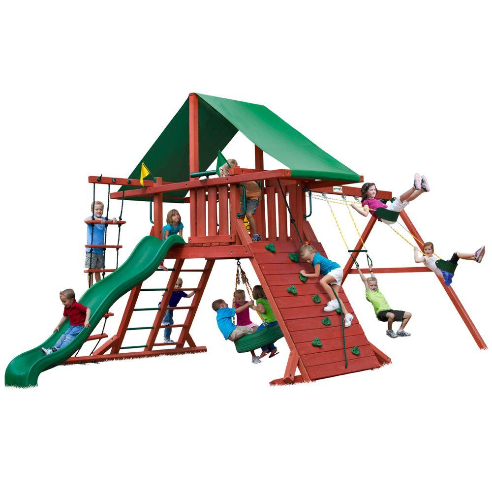 Gorilla Playsets Sun Valley I Cedar Playset