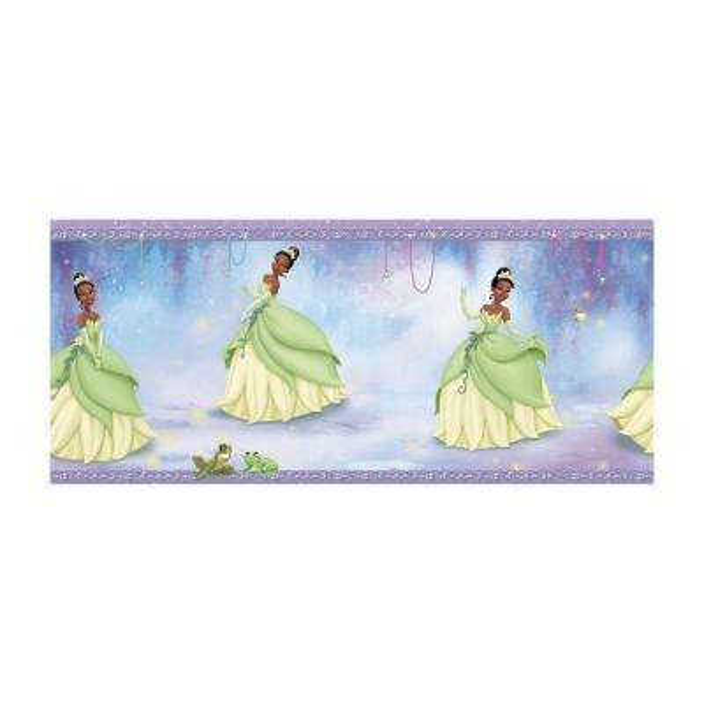 Kids Princess Tiana Wallpaper Border