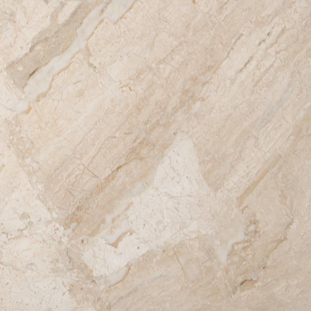 Polished Marble Floor And Wall Tile 11 25 Sq Ft Case Tnewdiareal1818 The Home Depot