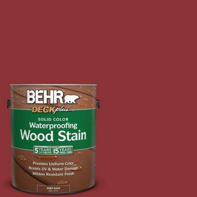 1 gal. #PPU2-3 Allure Solid Color Waterproofing Wood Stain