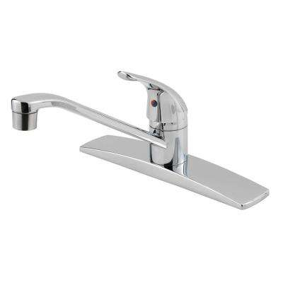 Pfirst Series Single-Handle Standard Kitchen Faucet in Polished Chrome