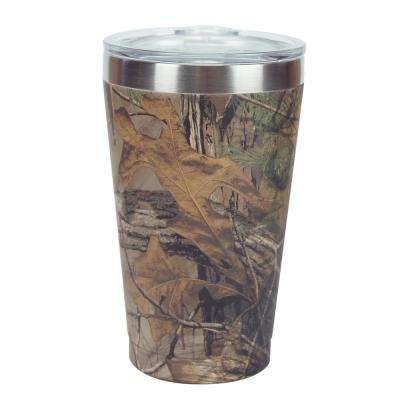 COLD-1 Vacuum Steel Pint Realtree Camo