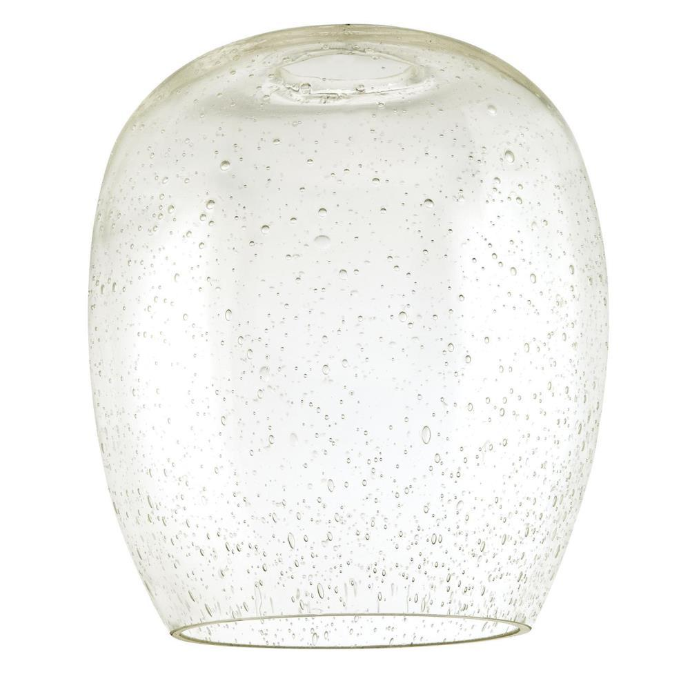 Westinghouse 7-1/8 in. Seeded Glass Barrel Shade with 2-1/4 in. Fitter and 6-1/4 in. Width