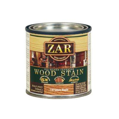 110 8 oz. Salem Maple Wood Interior Stain (2-Pack)