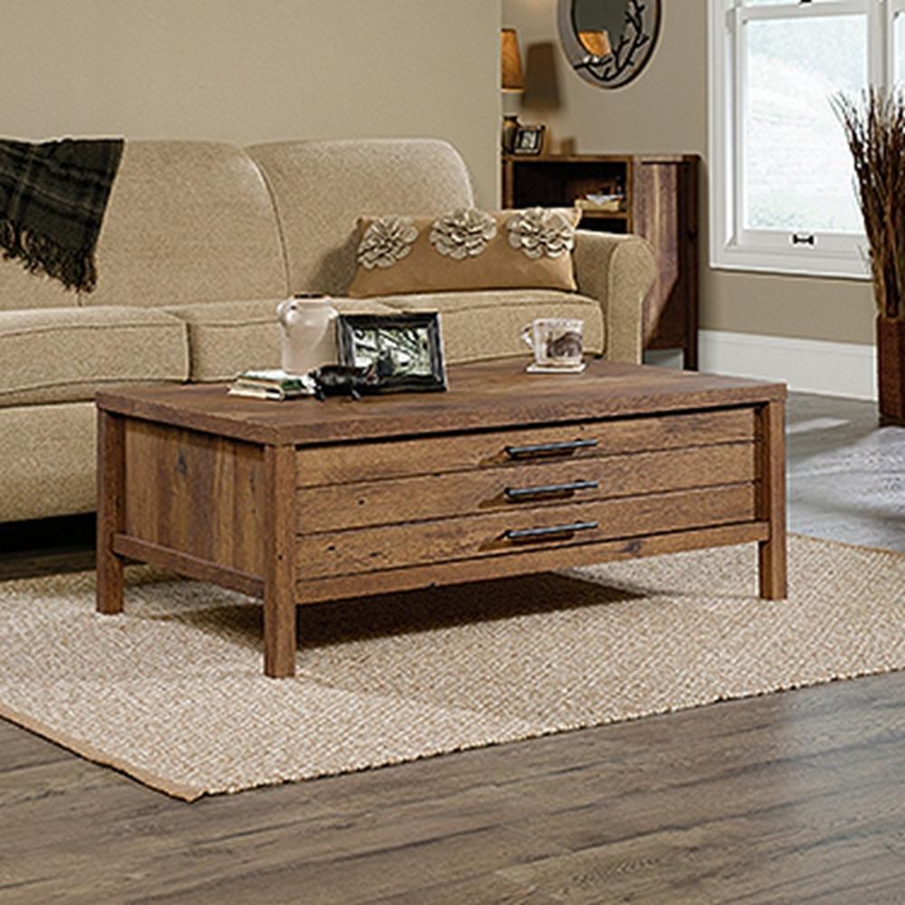 SAUDER New Grange Vintage Oak Coffee Table420233 The Home Depot