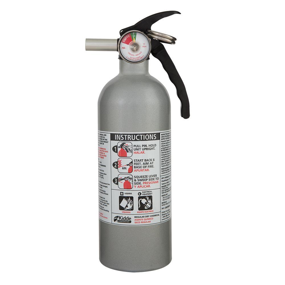 Kidde 5 B C Automobile Dry Powder Fire Extinguisher