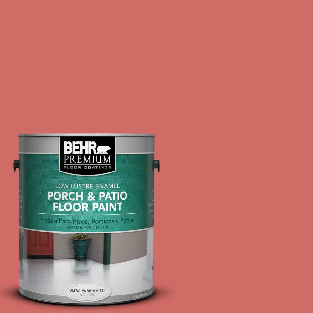 1 gal. #M160-6 Matadors Cape Low-Lustre Porch and Patio Floor Paint