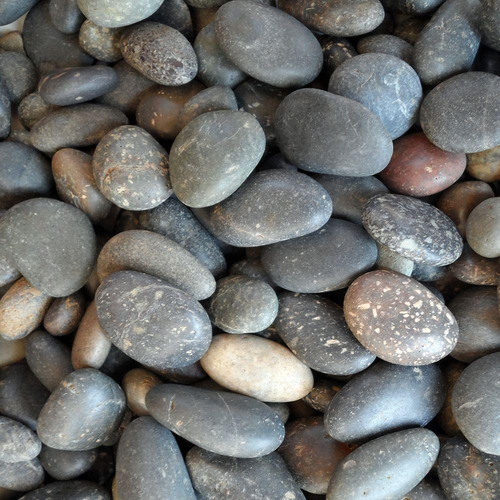Butler Arts 0.50 cu. ft. 5/8 in. - 7/8 in. Unpolished Mixed Mexican Beach Pebble Bag