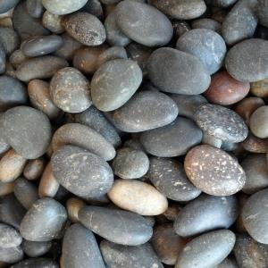 0.50 cu. ft. 5/8 in. - 7/8 in. Unpolished Mixed Mexican Beach Pebble Bag