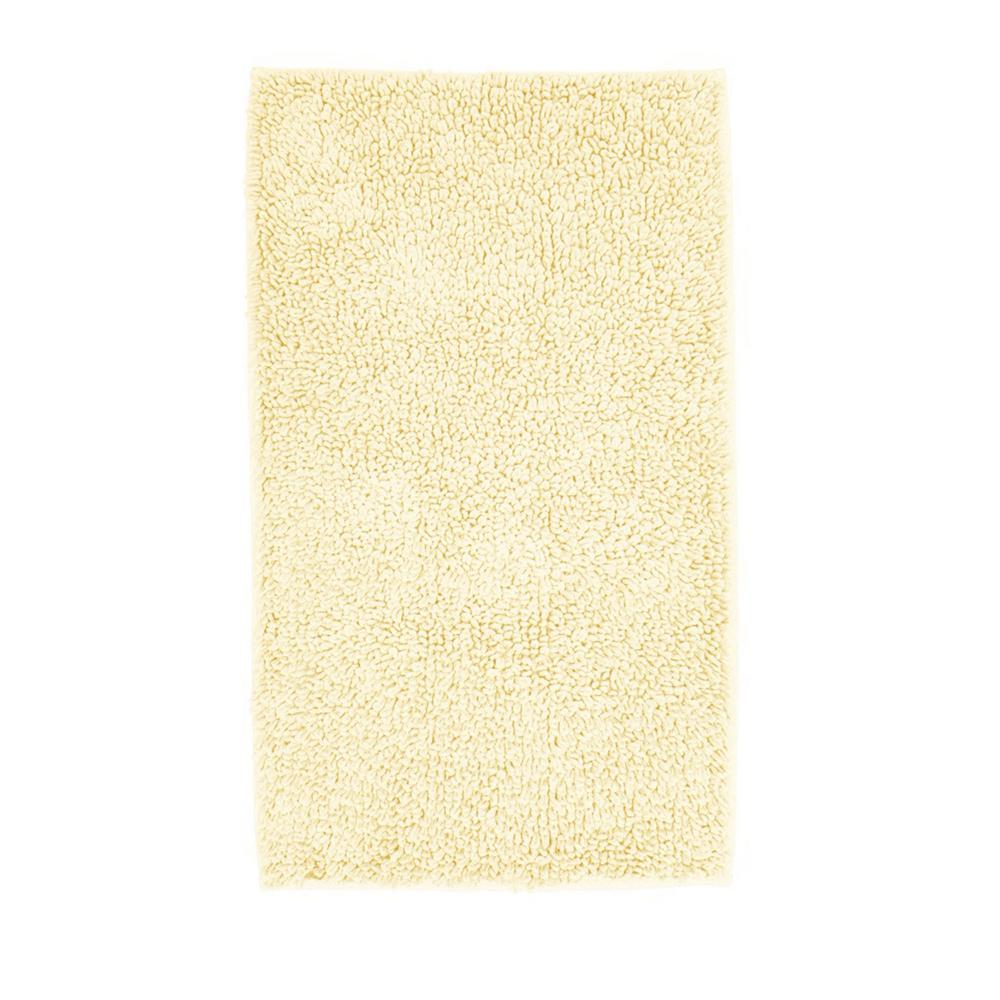 Company Cotton Chunky Loop Ivory 24 in. x 40 in. Bath Rug