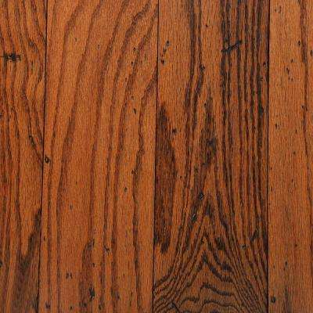 Distressed Oak Gunstock 3/8 in. Thick x 5 in. Wide Varying Length Engineered Hardwood Flooring (25 sq. ft. / case)