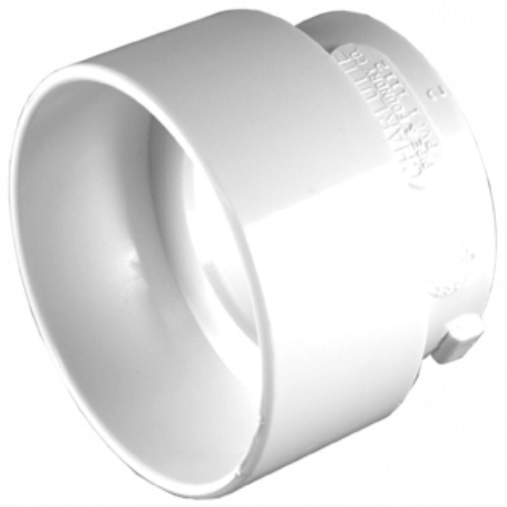 3 in. x 2 in. PVC Sch. 30 Thin-Wall Reducer Bushing