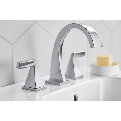 Katun 8 in. Widespread 2-Handle Bathroom Faucet in Polished Chrome
