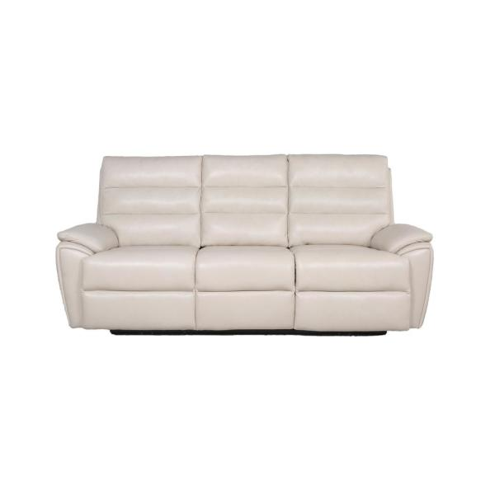 Duval Ivory 38.5 in. Power Reclining Sofa