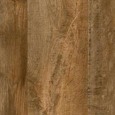 Take Home Sample - Aged Birch Plank Vinyl Sheet - 6 in. x 9 in.