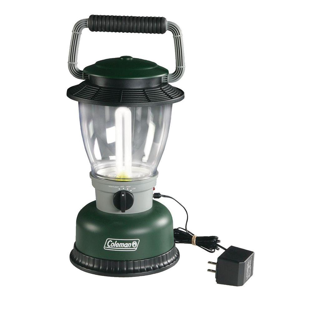Coleman Fluorescent Rechargeable Battery Powered Lantern