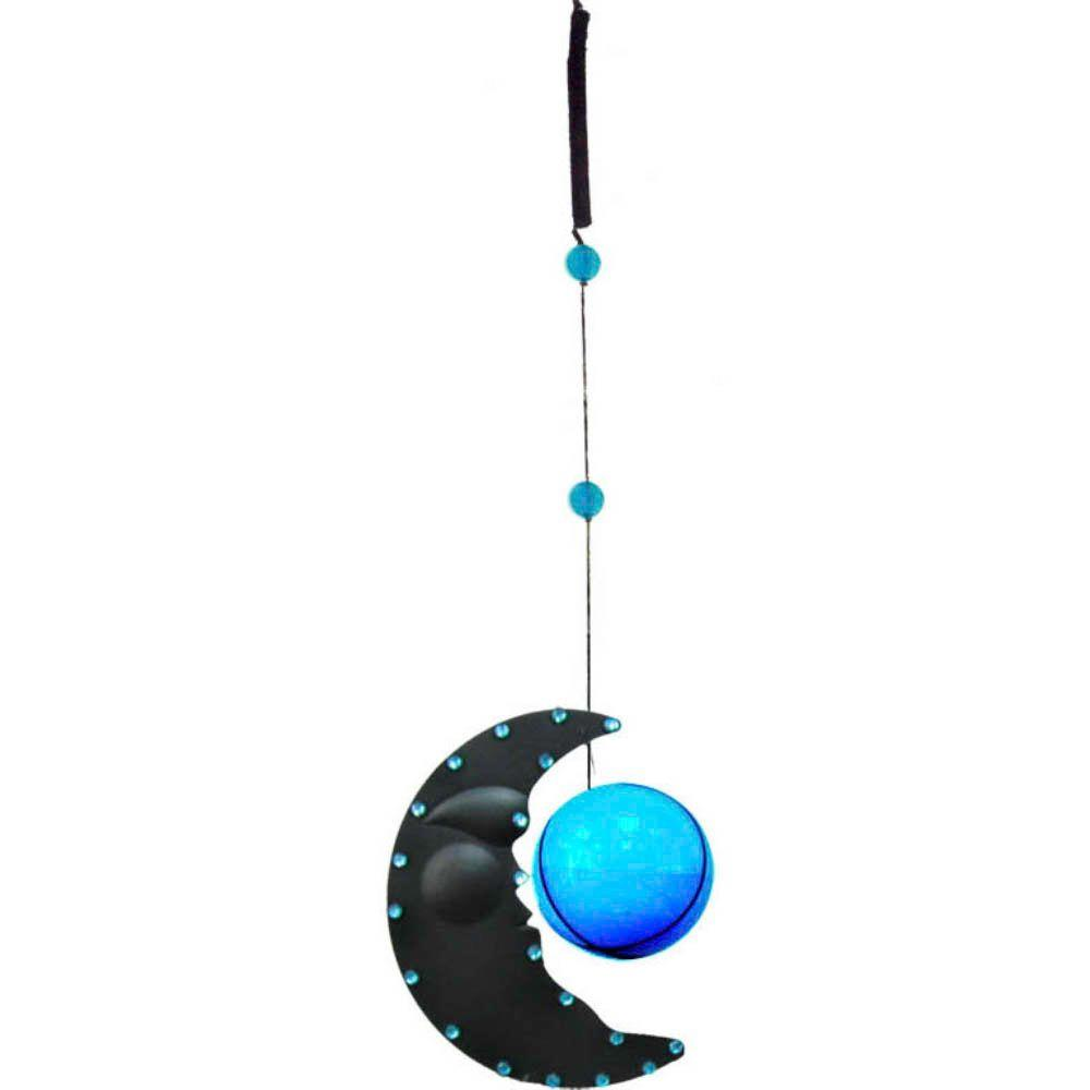 null 6 in. Solar Slinky Moon with Blue Light-DISCONTINUED